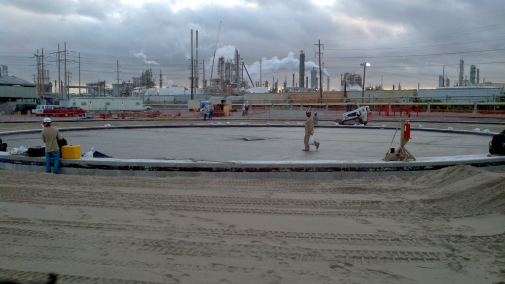 Secondary Liner System | Exxon Mobil Baton Rouge Refinery