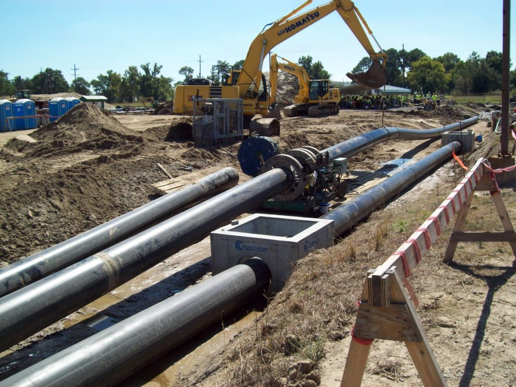 HDPE Piping System | Exxon Mobil Rockwell Plant