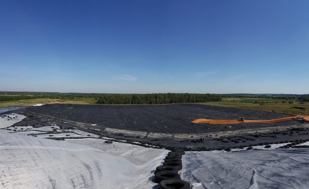 Geosynthetic Liner & HDPE Piping System | Alcoa/Reynolds Metals Hazardous Waste Landfill