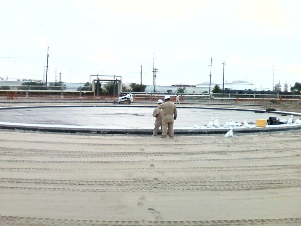 Secondary Liner System, Exxon Mobil Baton Rouge Refinery