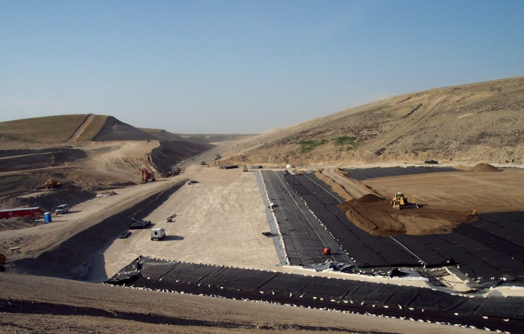 Composite Liner System | Waste Management's Columbia Ridge Landfill