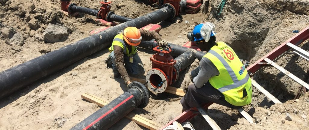 Firewater HDPE Piping System | Honeywell Apollo 2 Project